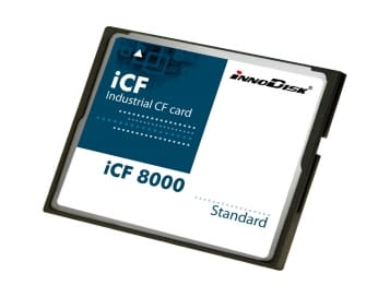 16GB iCF 8000 4 Channel Industrial Compact Flash
