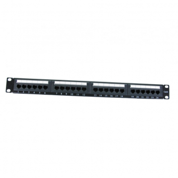 LinITX 24 Port Cat6 Patch Panel - UT-899544