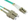 LinITX 3m OM4 Multi-Mode Fibre Optic Cable LC-SC - FB4M-LCSC-030