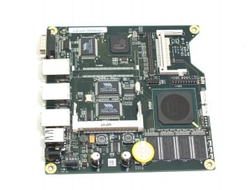 ALIX 2E13 System Board - LX800 / 256MB RAM / 3 LAN / mini-PCI / USB / RTC Battery