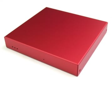 ALIX and APU (3LAN+USB) Enclosure Red