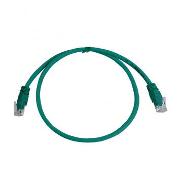 CAT5E UTP 0.5M Green Patch Cable