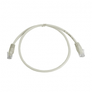 CAT5E UTP 0.5M Grey Patch Cable