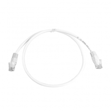 CAT5E UTP 0.5M White Patch Cable