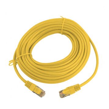 CAT5E UTP 10M Yellow Patch Cable
