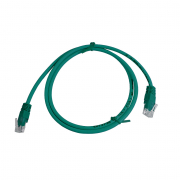 CAT5E UTP 1M Green Patch Cable