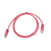 LinITX CAT5E UTP 1M Pink Patch Cable