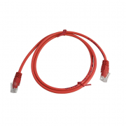 LinITX CAT5E UTP 1M Red Patch Cable