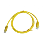 CAT5E UTP 1M Yellow Patch Cable
