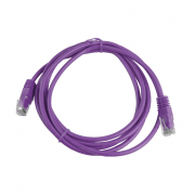 CAT5E UTP 2M Purple Patch Cable