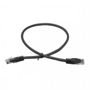 LinITX Pro Series CAT6 RJ45 UTP Ethernet Patch Cable 0.5m Black