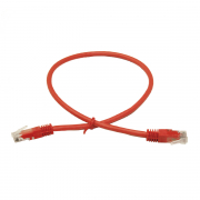 LinITX Pro Series CAT6 RJ45 UTP Ethernet Patch Cable 0.5m Red