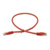 LinITX CAT6 UTP 0.5M Red Patch Cable
