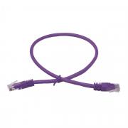 LinITX Pro Series CAT6 RJ45 UTP Ethernet Patch Cable 0.5m Purple