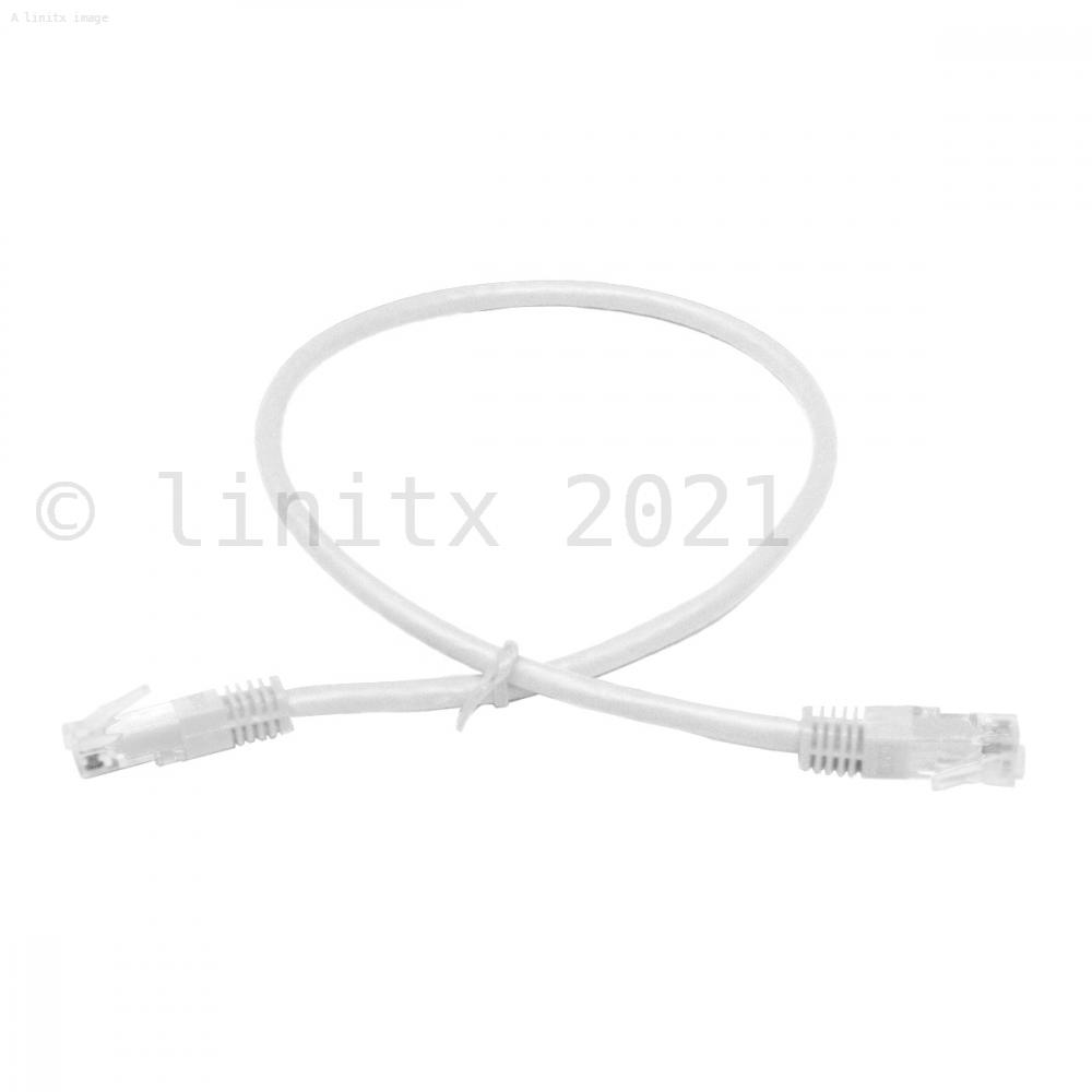 linitx pro series cat6 rj45 utp ethernet patch cable 0 5m