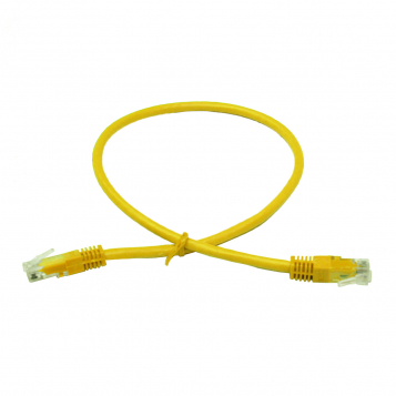 LinITX Pro Series CAT6 RJ45 UTP Ethernet Patch Cable 0.5m Yellow