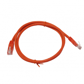 LinITX Pro Series CAT6 RJ45 UTP Ethernet Patch Cable 1m Red
