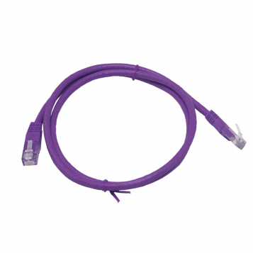 LinITX Pro Series CAT6 RJ45 UTP Ethernet Patch Cable 1m Purple