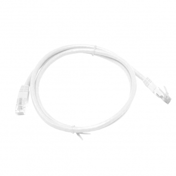 CAT6 UTP 1M White Patch Cable