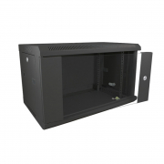 Datacel Wall Mounted Cabinet 6u 600x390mm Black