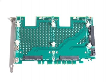 Dual 2.5 Inch SATA HDD PCI Mounting Card