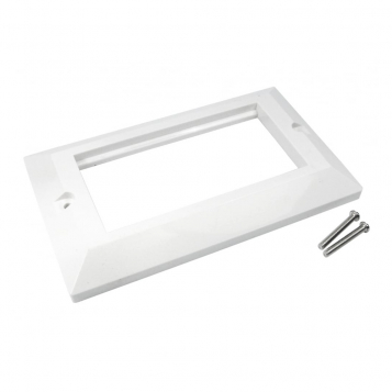 Dual Gang Euromod Frame - UT-89904F