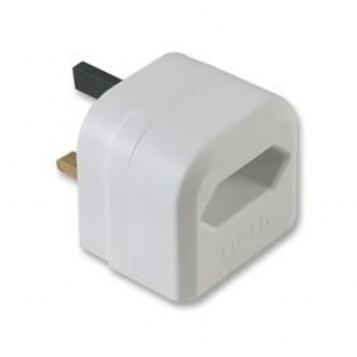 LinITX EU to UK White Adapter - 3 Amp