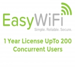 Easy Wi-Fi Ltd Easy Wi-FI HotSpot 1 Year License Up To 200 users