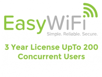 Easy Wi-FI HotSpot 3 Year License Up To 200 users
