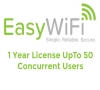 Easy Wi-Fi Ltd Easy Wi-FI HotSpot 1 Year License Up To 50 Users