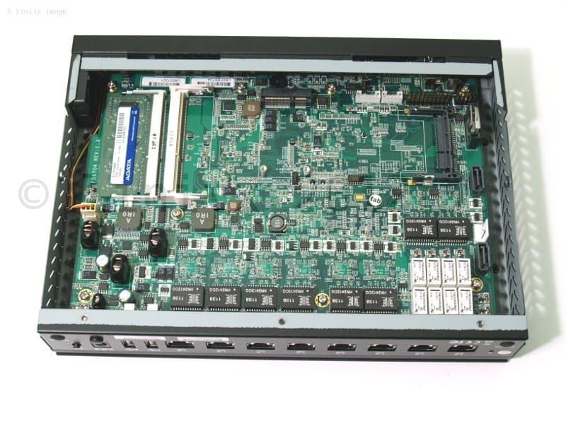 FX5625 Intel Atom 1.8GHz 8 NIC Firewall/Router Platform - 8 Intel
