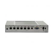 Fabiatech FX5624 Intel Celeron-M 600MHz 6 NIC Firewall/Router Platform - 2xGigaLAN + 4x10/100
