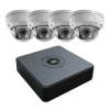 HiWatch 1TB NVR 4 X Dome Kit