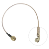 Solwise IPAX/U.FL to SMA Plug - 20cm Cable