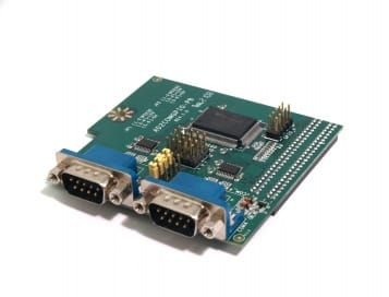 Jetway 2xRS232 + GPIO Add-on Board