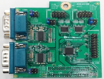Jetway 4 x RS232 Add-on Board - PCIe