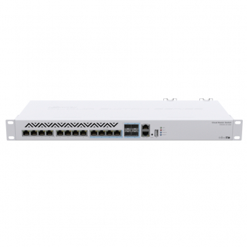MikroTik 10G RJ45 SFP+ Cloud Router Switch - CRS312-4C+8XG-RM