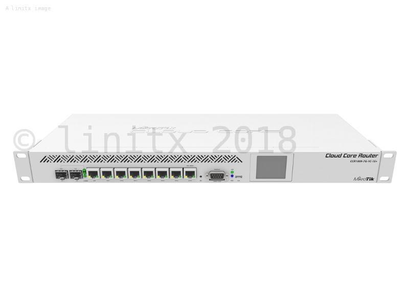 MikroTik Cloud Core Router Firewall VPN CCR1009-7G-1C-1S+