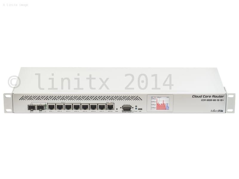 MikroTik Cloud Core Router Firewall VPN SFP+ 2GB RAM 9 Core