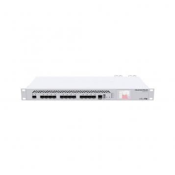MikroTik Cloud Core Router Firewall VPN 12 x SFP Ports Dual PSU - CCR1016-12S-1S+R2 (RouterOS L6)