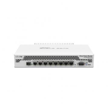 MikroTik Cloud Core Router Firewall VPN 1GB RAM 9 Core Silent CCR1009-8G-1S-PC (RouterOS L6)
