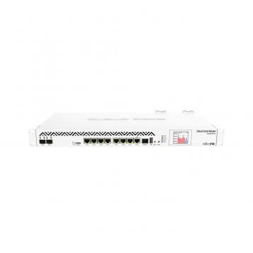 MikroTik Cloud Core Router Firewall VPN SFP+ 8 x 1Gb Ports 2 x SFP+ Dual PSU - CCR1036-8G-2S+R2 (RouterOS L6)