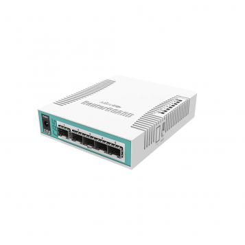 MikroTik Cloud Router Switch 106-1C-5S (RouterOS Level 5)