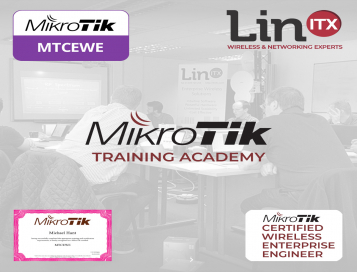 LinITX MikroTik EW0320 MTCEWE Training Course at EU MUM Prague - 23rd March - 25th March 2020