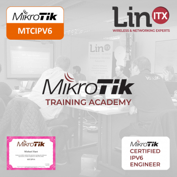 MikroTik IPV6-0520 MTCIPV6E Training Course - 28th-29th May 2020