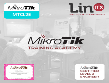 LinITX MikroTik L20321 MTCSWE Training Course at EU MUM Prague - 29th March - 31st March 2020
