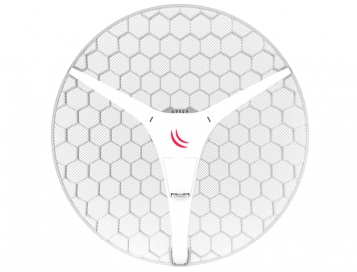 MikroTik High Gain Client Wireless Router - LHG XL 5 AC (with PoE + UK PSU)