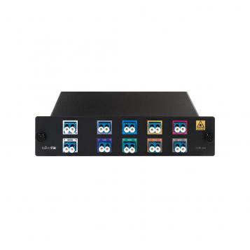 MikroTik MUX 8-Way Fiber Optic Multiplexer / Splitter - CWDM-MUX8A