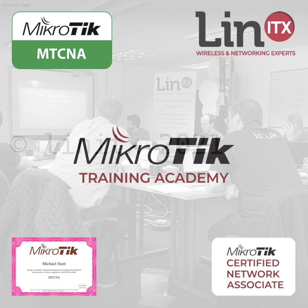 MikroTik NA0919 MTCNA Training Course - 3rd - 5th Sept 2019