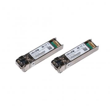MikroTik Pair of SFP/SFP+/SFP28 Modules 1/10/25G Single Mode 15km 1270nm + 1330nm XS+2733LC15D